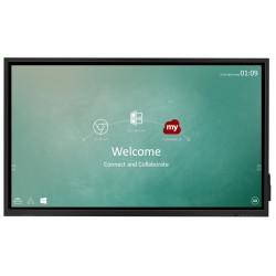 """ViewSonic Flat Display IFP7530/ 75""""/4K /Touch/ LCD/ 3840x2160/ 8ms/ 450cd/ 1x VGA/ 4xHDMI / 4x USB/ 2x LAN /1x RS232"""
