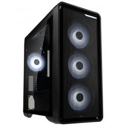 Zalman skříň M3 Plus / Mini tower / Micro ATX / USB 3.0 / 2x USB 2.0 / RGB / průhledná bočnice