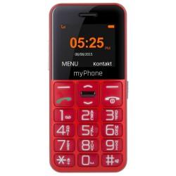 """MyPhone Halo Easy Senior   1,77""""/ Single SIM/ Micro SDHC až 32 GB/ červený"""