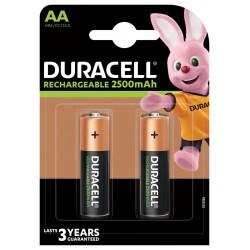 DURACELL - Nabíjecí AA 2500mAh 2 ks