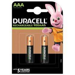 DURACELL - Nabíjecí AAA 900mAh 2 ks
