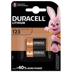 DURACELL - HPL baterie 123 2 ks