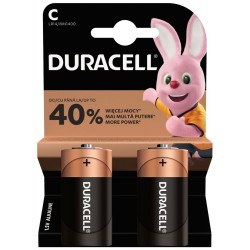 DURACELL - Basic baterie C 2 ks
