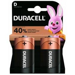 DURACELL - Basic baterie D 2 ks
