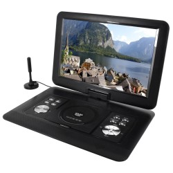 """Soundmaster PDB1600SW přenosný DVD přehrávač / DVB-T2 HD Tuner/ 15,4"""""""
