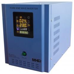 MHPower měnič napětí MP-1800-24, střídač, čistý sinus, 24V, 1800W