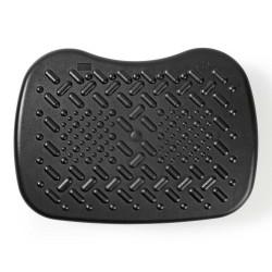 POŠKOZENÝ OBAL - NEDIS ergonomická podnožka/ nastavitelné úhly/ plastová/ černá