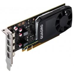 PNY Quadro P1000 V2 DVI / 4GB GDDR5 / PCI-E / 4x miniDP 1.4 / Low profile bracket v balení