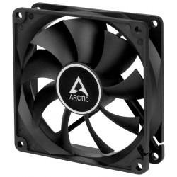 ARCTIC F9 Silent black ventilátor 92mm / tichý / černý
