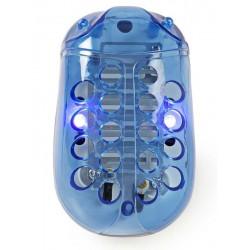NEDIS světelná nástraha na hubení komárů/ výkon 1W/ pokrytí 20 m2/ modro-bílá