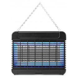 NEDIS elektrický lapač hmyzu/ příkon 11 W/ pokrytí 150 m2/ černý