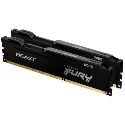 KINGSTON FURY Beast Black 16GB DDR3 1600MHz / CL10 / DIMM / KIT 2x 8GB