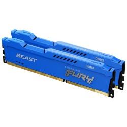 KINGSTON FURY Beast Blue 16GB DDR3 1866MHz / CL10 / DIMM / KIT 2x 8GB