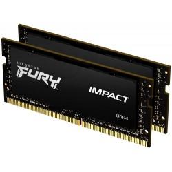 KINGSTON FURY Impact 64GB DDR4 2666MHz / CL16 / SO-DIMM / KIT 2x 32GB
