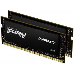 KINGSTON FURY Impact 64GB DDR4 2933MHz / CL17 / SO-DIMM / KIT 2x 32GB