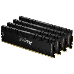 KINGSTON FURY Renegade Black 64GB DDR4 3600MHz / CL16 / DIMM / KIT 4x 16GB
