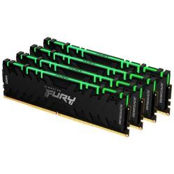 KINGSTON FURY Renegade RGB 64GB DDR4 3000MHz / CL15 / DIMM KIT 4x 16GB