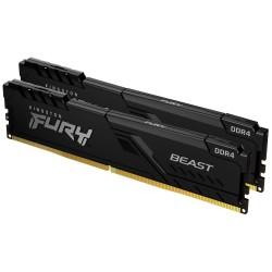KINGSTON FURY Beast Black 64GB DDR4 3000MHz / CL16 / DIMM / KIT 2x 32GB
