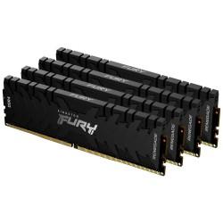 KINGSTON FURY Renegade Black 64GB DDR4 2666MHz / CL13 / DIMM KIT 4x 16GB