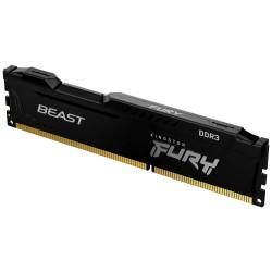 KINGSTON FURY Beast Black 4GB DDR3 1600MHz / CL10 / DIMM