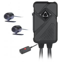 CEL-TEC Duální kamera na motorku i do auta / MK02 Dual Wi-Fi GPS
