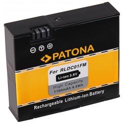 PATONA baterie pro digitální kameru Xiaomi MiJia Mini 4K 1160mAh Li-Ion 3,8V