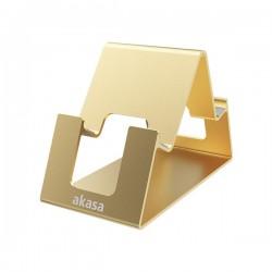 AKASA stojánek Aries Pico pro mobilní telefon / tablet / AK-NC061-GD / hliníkový / zlatý