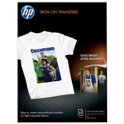 HP Iron-on Transfers, 12 listů/A4/210x297 mm
