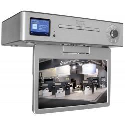 Soundmaster EliteLine KTD1020SI kuchyňské multimediální centrum s DAB+/FM/ LCD/ DVB-T2/ BT/ CD/ MP3/ USB
