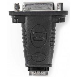 NEDIS redukce HDMI/ HDMI zásuvka - DVI-I 24+1p zásuvka/ box/ černá