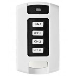 NEDIS RF chytrý dálkový ovladač/ 2 kanály/ bílý