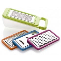 BANQUET Sada vyměnitelných struhadel 26 x 10,2 x 10,8 cm, 4 díly, mix barev