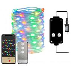 IMMAX NEO LITE SMART vánoční LED osvětlení - řetěz, RGB, WiFi, TUYA, 10m
