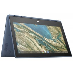 "HP ChromeBook x360 G3 EE/ Celeron N4120/ 8GB LPDDR4/ 64GB EMMC/ UHD Graphics/ 11,6"" HD Touch/ Chrome OS 64/ modrý"