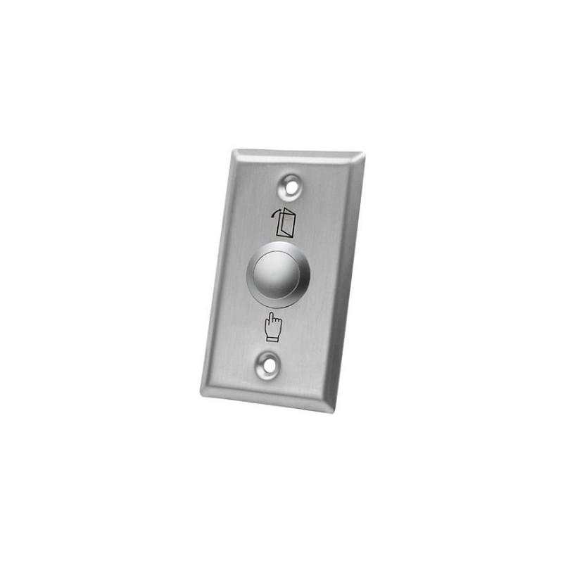 XtendLan Odchodové tlačítko/ kovové/ zápustné/ 86x50mm