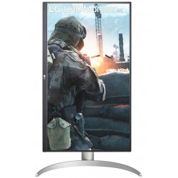 LG monitor 27UP650W IPS 4K / 3840x2160 / 5ms / 5M:1 / 400cd / 2xHDMI / DP / pivot / bílý