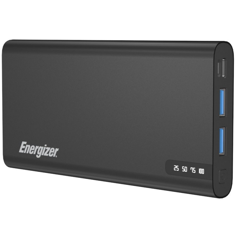 Energizer powerbanka UE10047PQ_BK   10000mAh, Fast Charging 18W, černá