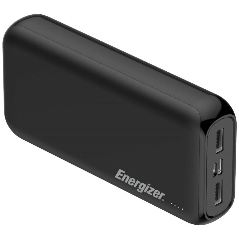 Energizer powerbanka UE20010_BK   20000mAh, 2,1A, černá