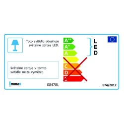 IMMAX venkovní solární LED osvětlení/ 3000K + 6000K/ PIR čidlo/ dálkové ovládání/ příkon 4,2W/ IP65/ černé